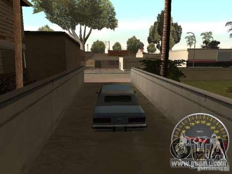 Lamborghini Speedometer for GTA San Andreas second screenshot