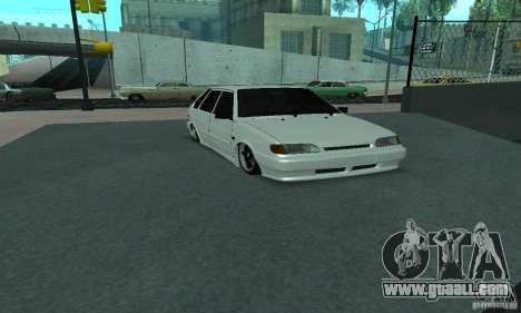 ВАЗ 2114 Lenso for GTA San Andreas back left view