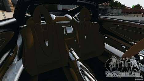Pagani Huayra 2011 v1.0 [EPM] for GTA 4 inner view