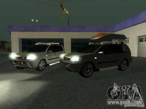 Nissan X-Trail for GTA San Andreas side view