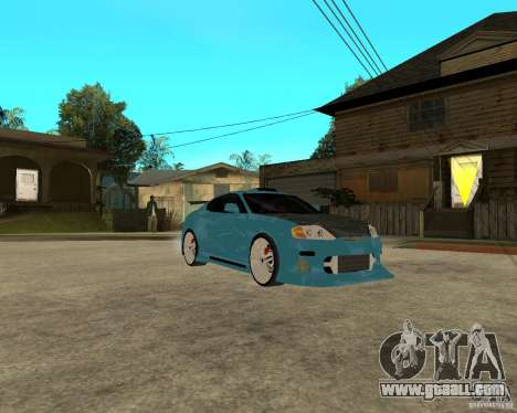 Hyundai Tibuton V6 GT for GTA San Andreas back view