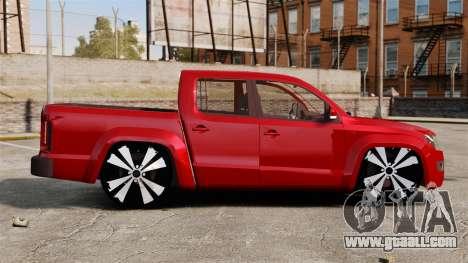 Volkswagen Amarok 2.0 TDi AWD Trendline 2012 for GTA 4 left view