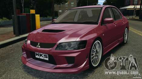 Mitsubishi Lancer Evolution 8 for GTA 4
