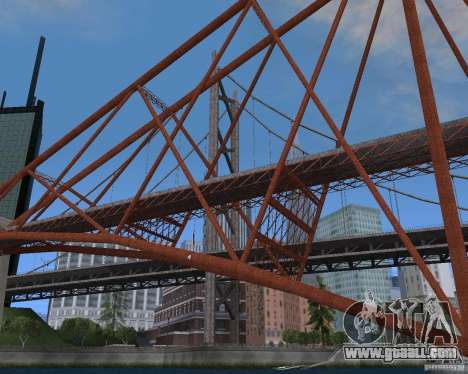 New textures of three bridges in SF for GTA San Andreas tenth screenshot