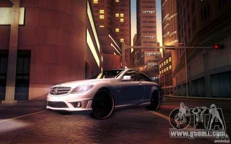 Mercedes Benz CL65 AMG for GTA San Andreas wheels