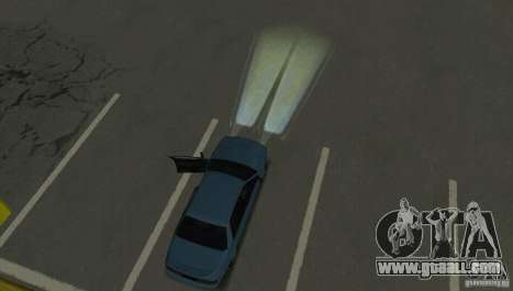 Halogen headlights for GTA San Andreas sixth screenshot