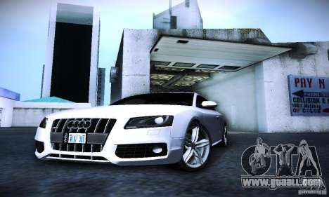 Audi S5 for GTA San Andreas side view
