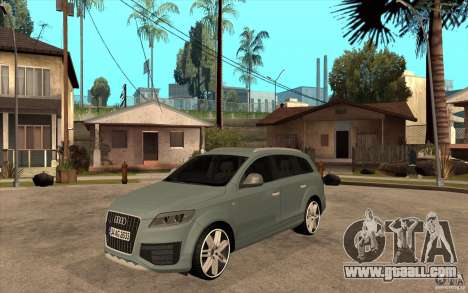 Audi Q7 V12 TDI 2011 for GTA San Andreas
