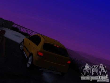 Volkswagen Gol Rallye 2012 for GTA San Andreas inner view