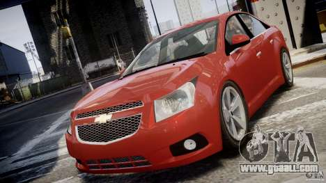Chevrolet Cruze for GTA 4 inner view
