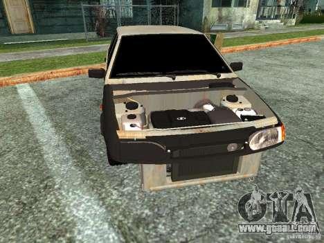 ВАЗ 2114 Hobo for GTA San Andreas back left view