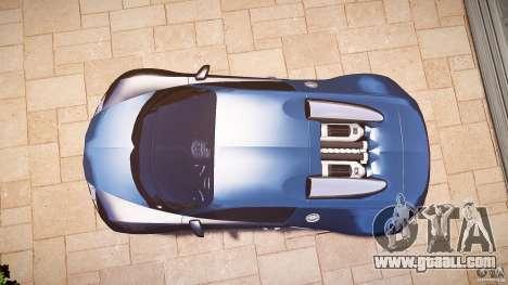Bugatti Veyron 16.4 v3.0 2005 [EPM] Strasbourg for GTA 4 right view