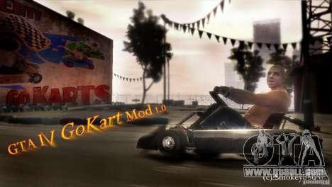 GoKart Mod 1.0 for GTA 4 left view