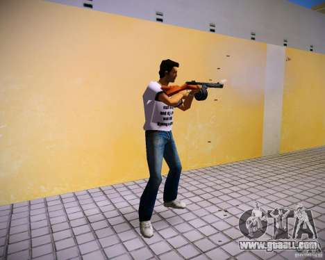 PPSH-41 for GTA Vice City second screenshot