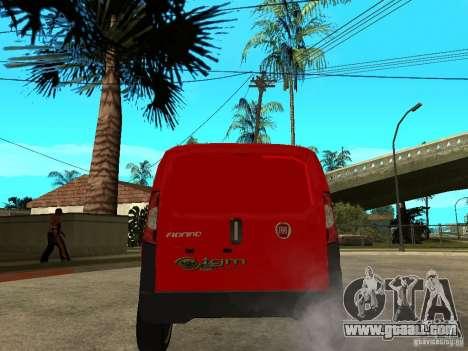 Fiat Fiorino Combi for GTA San Andreas back left view