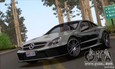 Mercedes-Benz SL65 AMG Black Series for GTA San Andreas