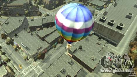 Balloon Tours option 7 for GTA 4 back left view