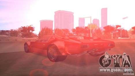 De Tomaso Pantera for GTA Vice City left view