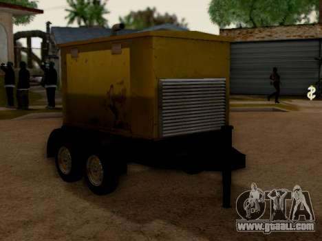 Trailer Generator for GTA San Andreas right view