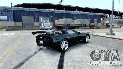 Chevrolet Corvette C6 Convertible v1.0 for GTA 4 wheels