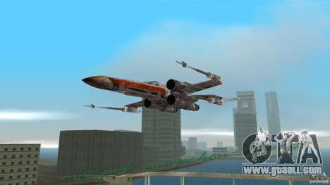 X-Wing Skimmer for GTA Vice City