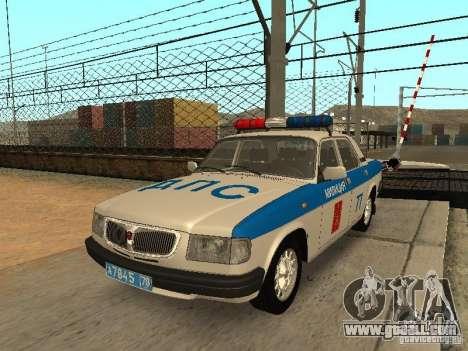 GAZ 3110 Police for GTA San Andreas