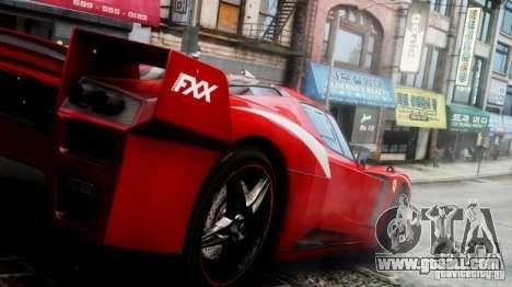Ferrari FXX Evoluzione for GTA 4 right view