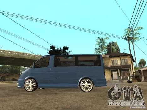 Gaz-2217-Barguzin Sable for GTA San Andreas left view