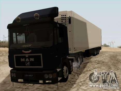 MAN F2000 6x4 for GTA San Andreas