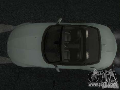 BMW Z4 for GTA San Andreas bottom view