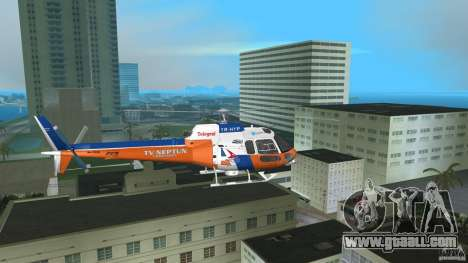 Eurocopter As-350 TV Neptun for GTA Vice City back view