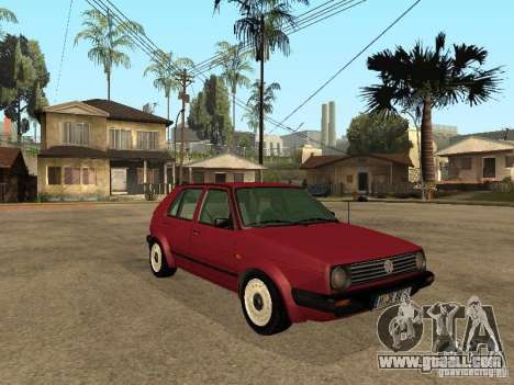 Volkswagen Golf MKII 5dr for GTA San Andreas right view
