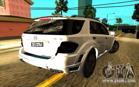 Mercedes-Benz ML63 AMG W165 Brabus for GTA San Andreas