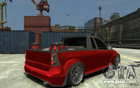 Dacia Pick-up Tuning for GTA 4 right view