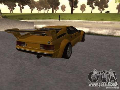 BMW M1 Procar for GTA San Andreas right view