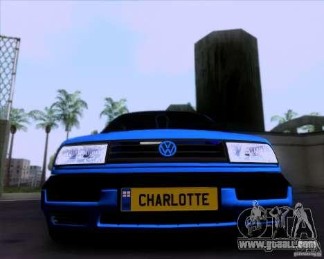 Volkswagen Golf III for GTA San Andreas left view