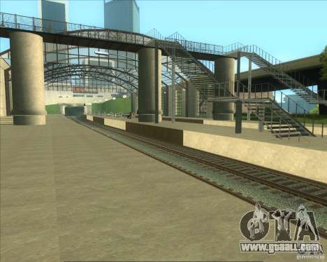 The high platforms at railway stations for GTA San Andreas forth screenshot