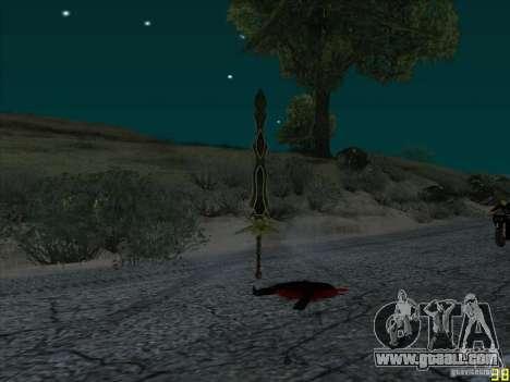 Claw Beliara for GTA San Andreas third screenshot