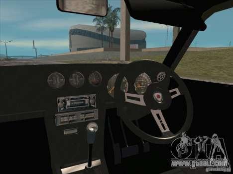 Mazda Savanna RX3 for GTA San Andreas upper view