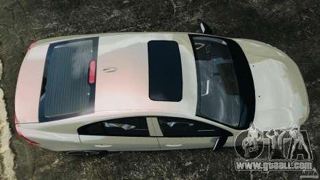 Volvo S60 R Design for GTA 4 right view