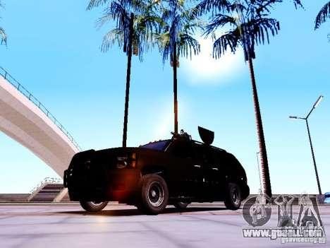 Chevrolet Silverado for GTA San Andreas back left view