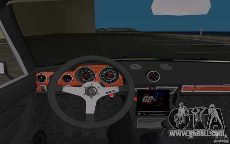 VAZ 2106 Tuning v3.0 for GTA Vice City upper view
