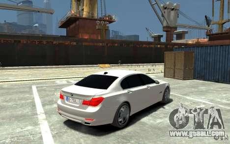 Bmw 750 LI v1.0 for GTA 4 right view