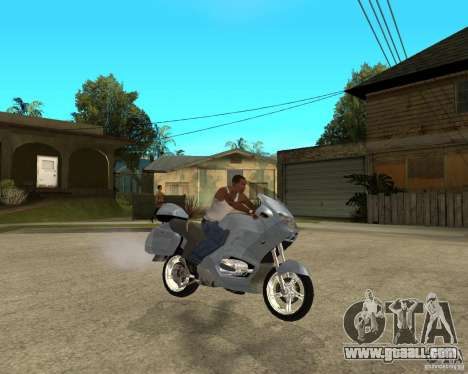 BMW R 1150 RT for GTA San Andreas right view