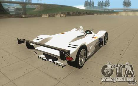 BMW V12 LeMans - Stock for GTA San Andreas side view