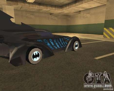 Batmobile 1995 for GTA San Andreas right view