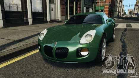 Pontiac Solstice 2009 for GTA 4