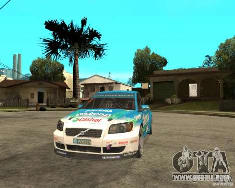 VOLVO C30 STCC for GTA San Andreas back view