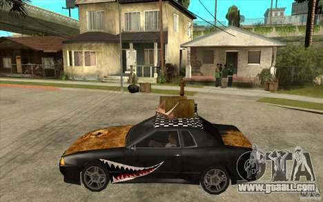 Elegy Rost Style for GTA San Andreas left view