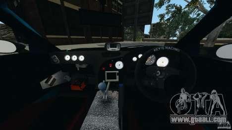 Mazda RX-7 RE-Amemiya for GTA 4 back view